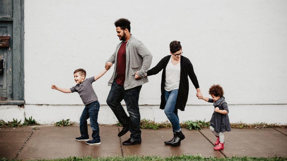 Família alegre