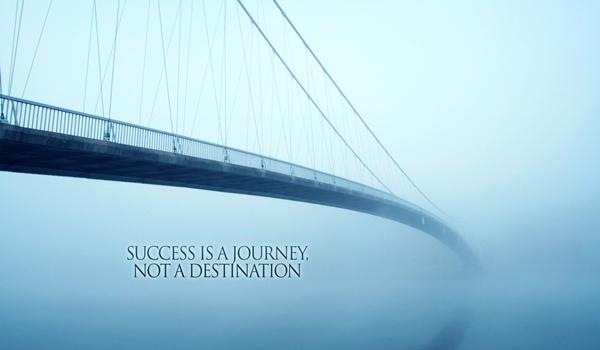 Caminho para sucesso