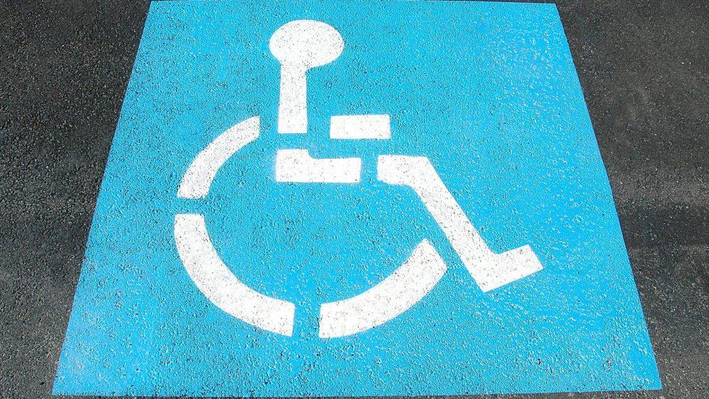 dístico de deficiente